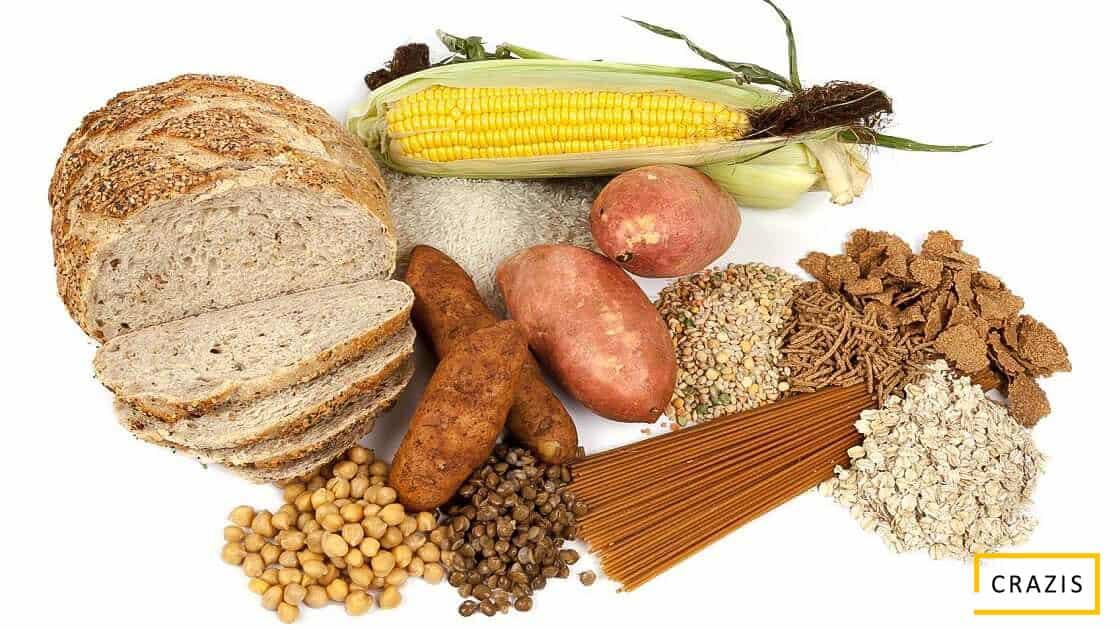 Thực phẩm chứa tinh bột tốt được sử dụng trong Eat Clean