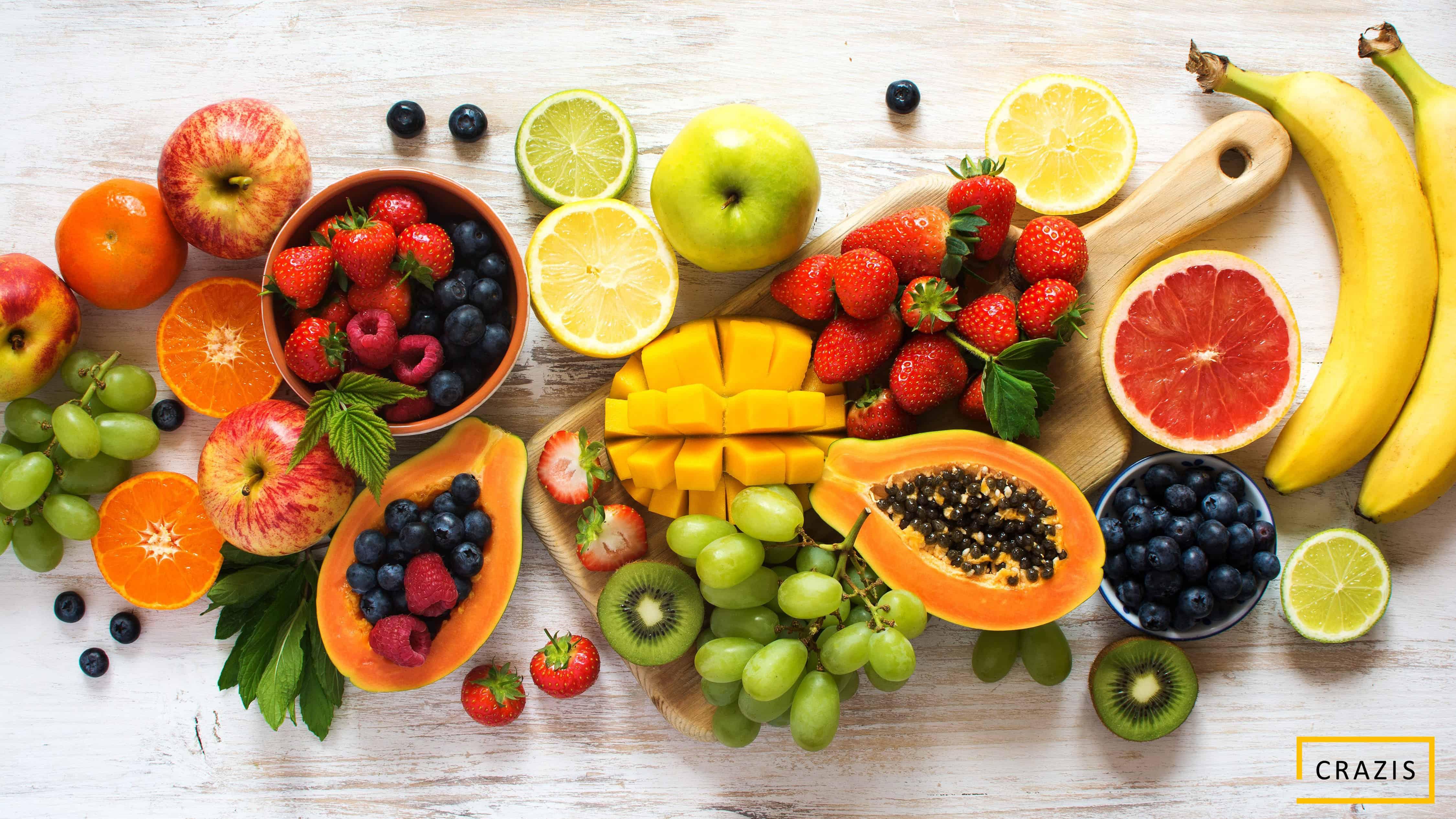 Thực phẩm chứa Vitamin và khoáng chất