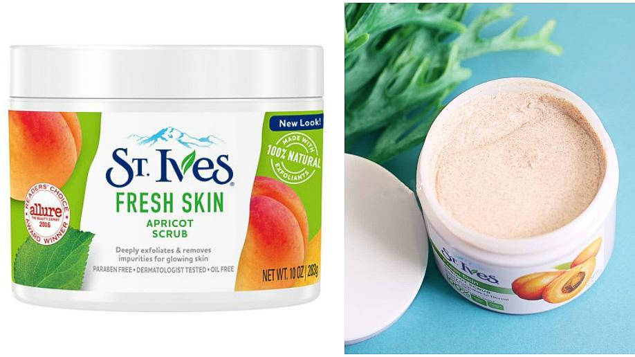 tẩy tế bào chết cho body ST.Ives Apricot scrub