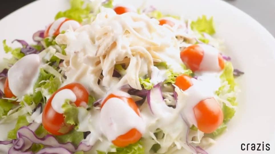 Salad gà Low Carb