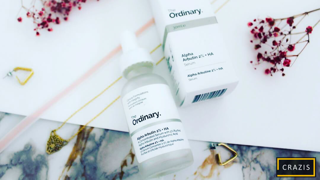Serum the ordinary alpha arbutin dành cho da dầu