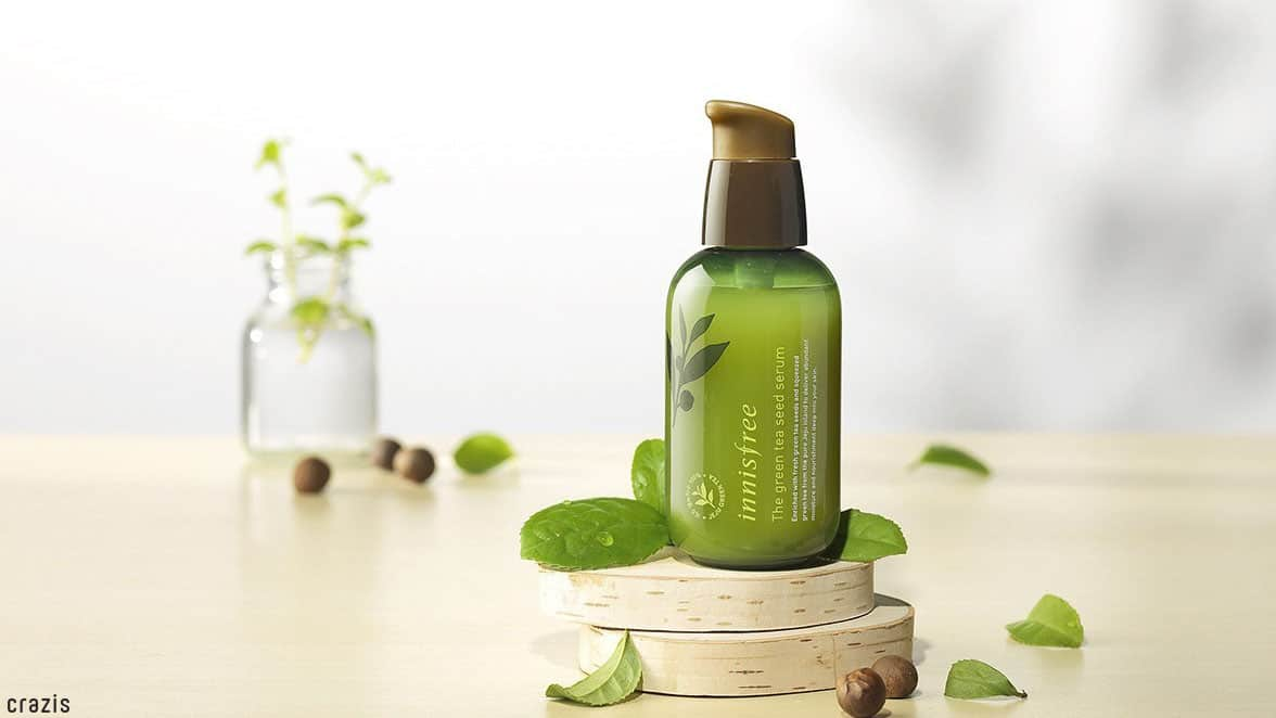 Serum dành cho da dầu Innisfree The Green Tea Seed Serum