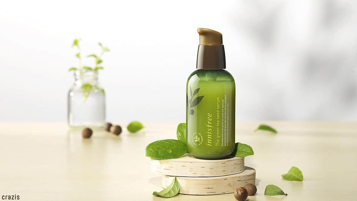 Serum dành cho da dầu Innisfree The Green Tea Seed Serum