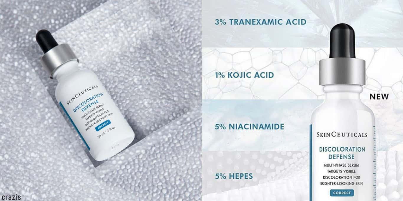 Serum dưỡng trắng da SkinCeuticals discoloration defense