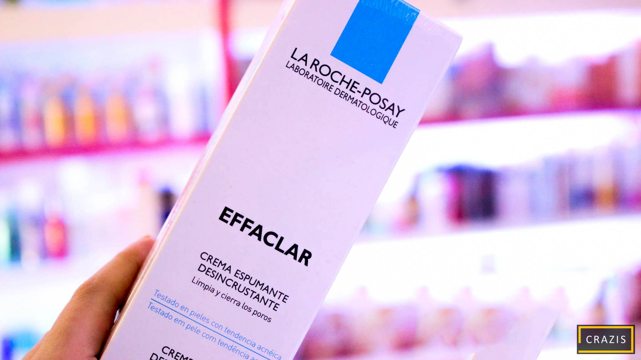 Sữa rửa mặt La Roche posay dành cho da nhạy cảm