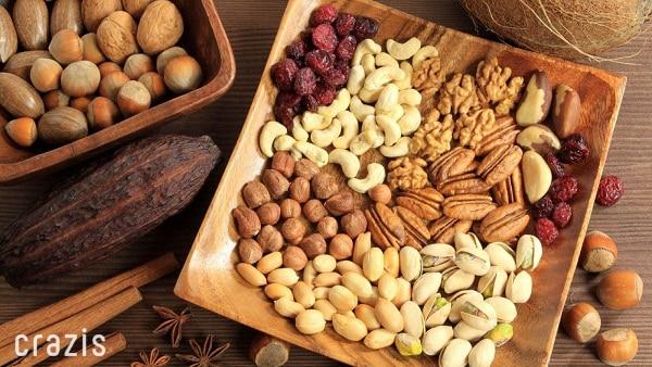 Các loại hạt dinh dưỡng tốt cho sức khỏe