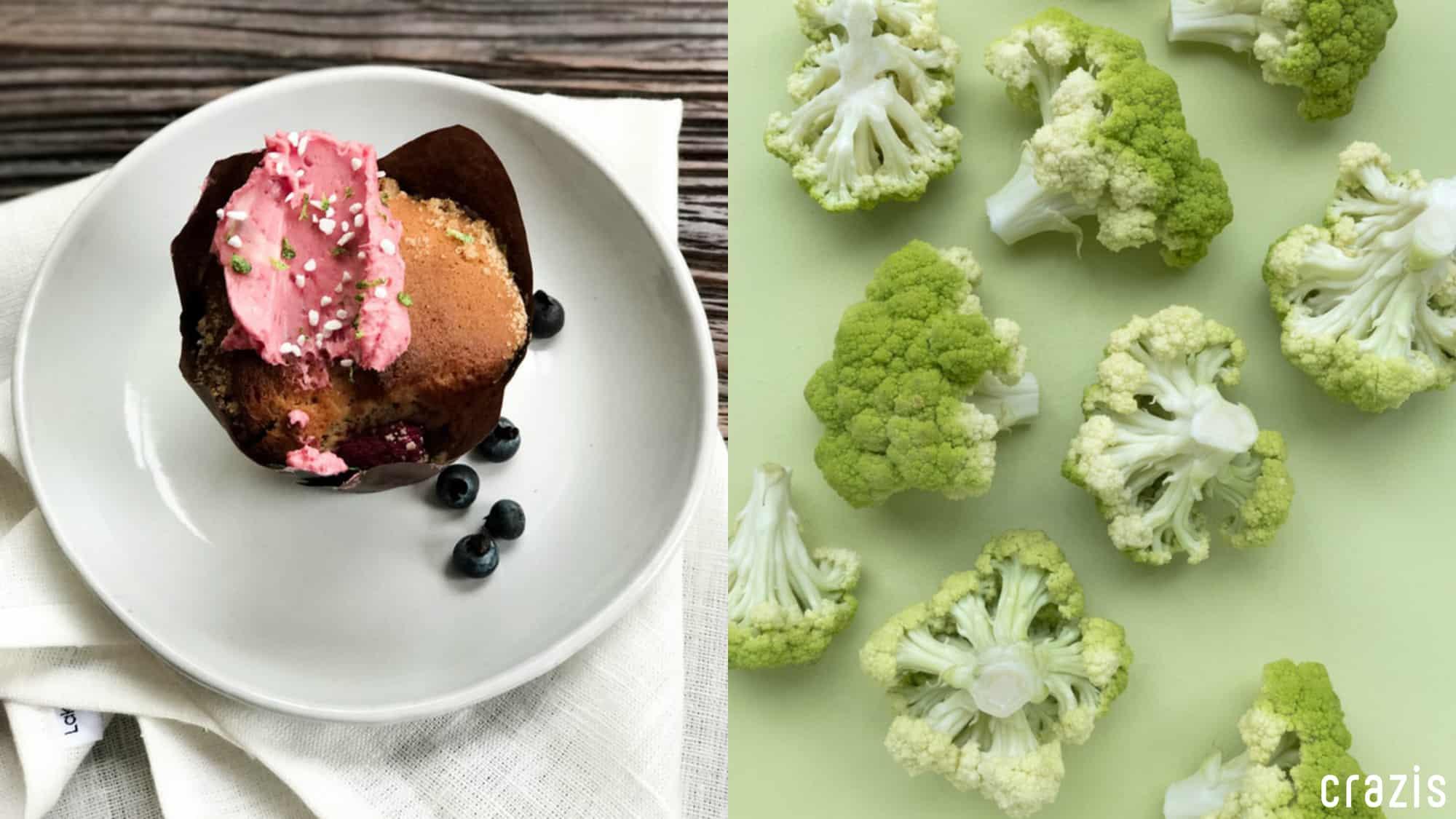 Phần bánh béo bở hay đĩa rau lành mạnh?