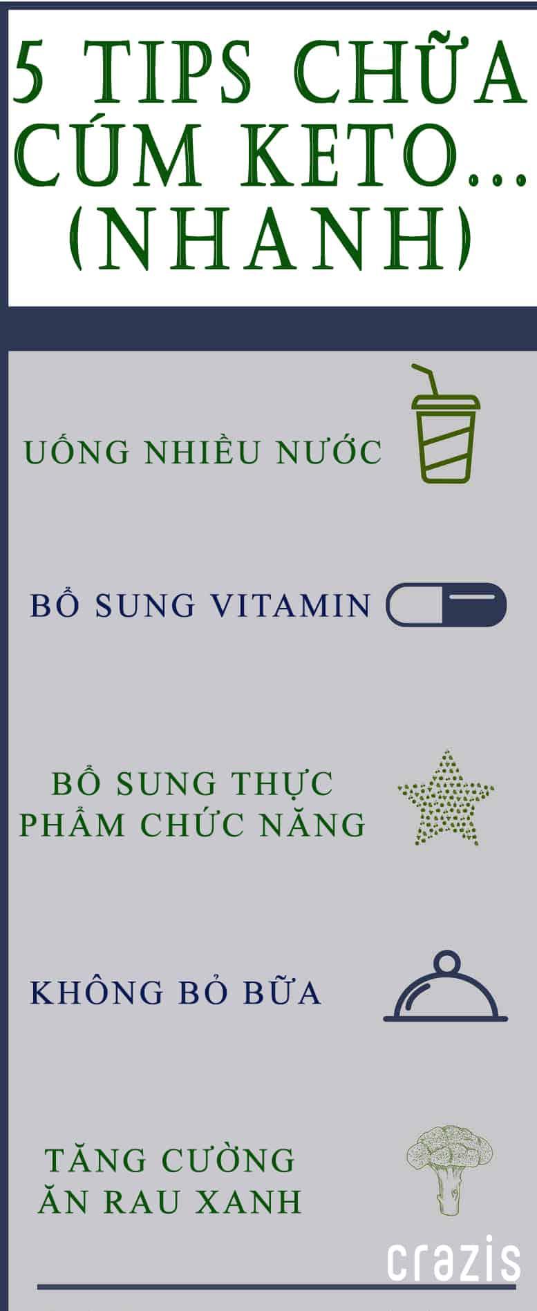 5 tips chữa cúm Keto (NHANH NHẤT)