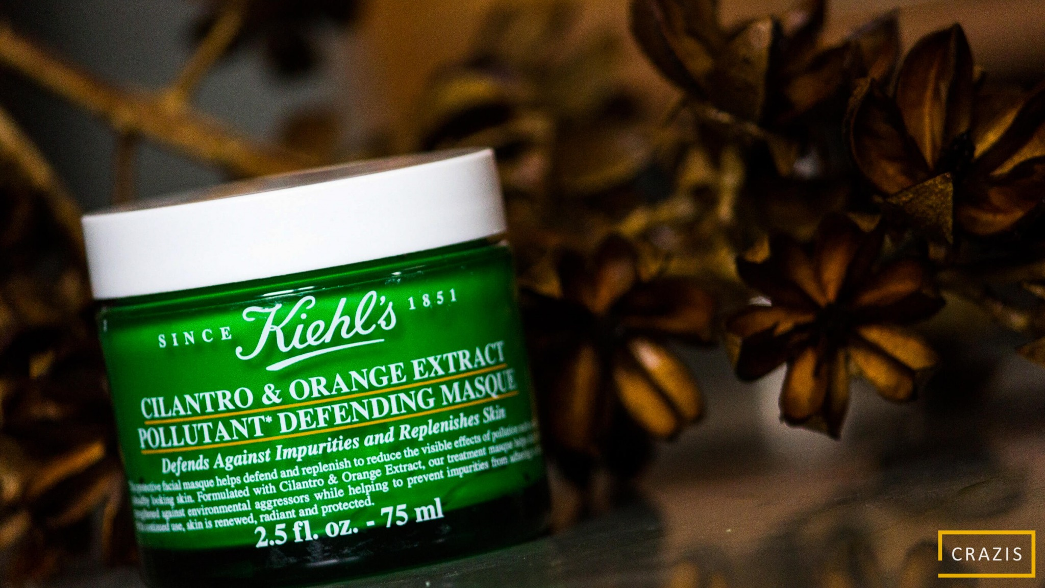 Kiehl's Cilantro & Orange Extract Pollutant Defending