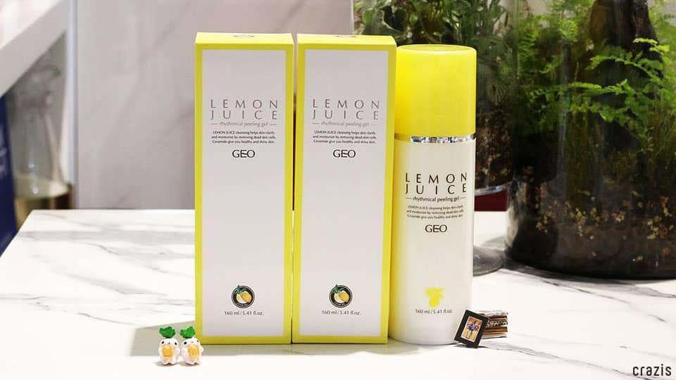 Tẩy tế bào chết Geo Lemon Juice Rhythmical Peeling Gel