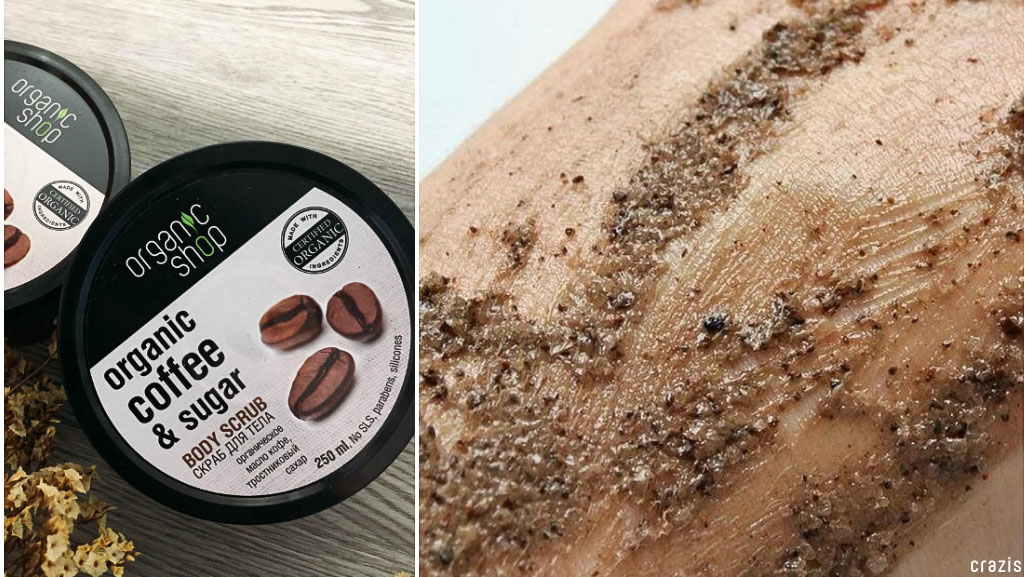 tẩy tế bào chết cho body Organic-Shop-Organic-Coffee-Sugar-Body-Scrub