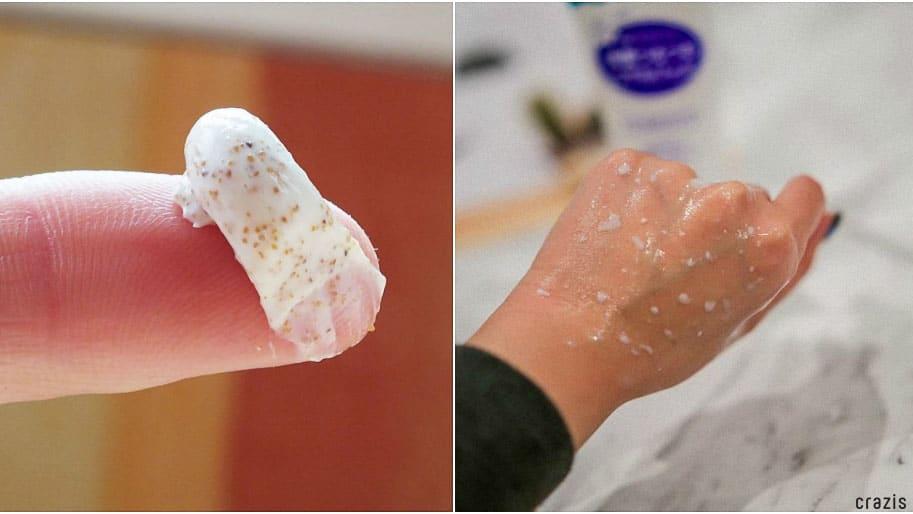 tẩy tế bào chết dạng Scrub và Peeling gel