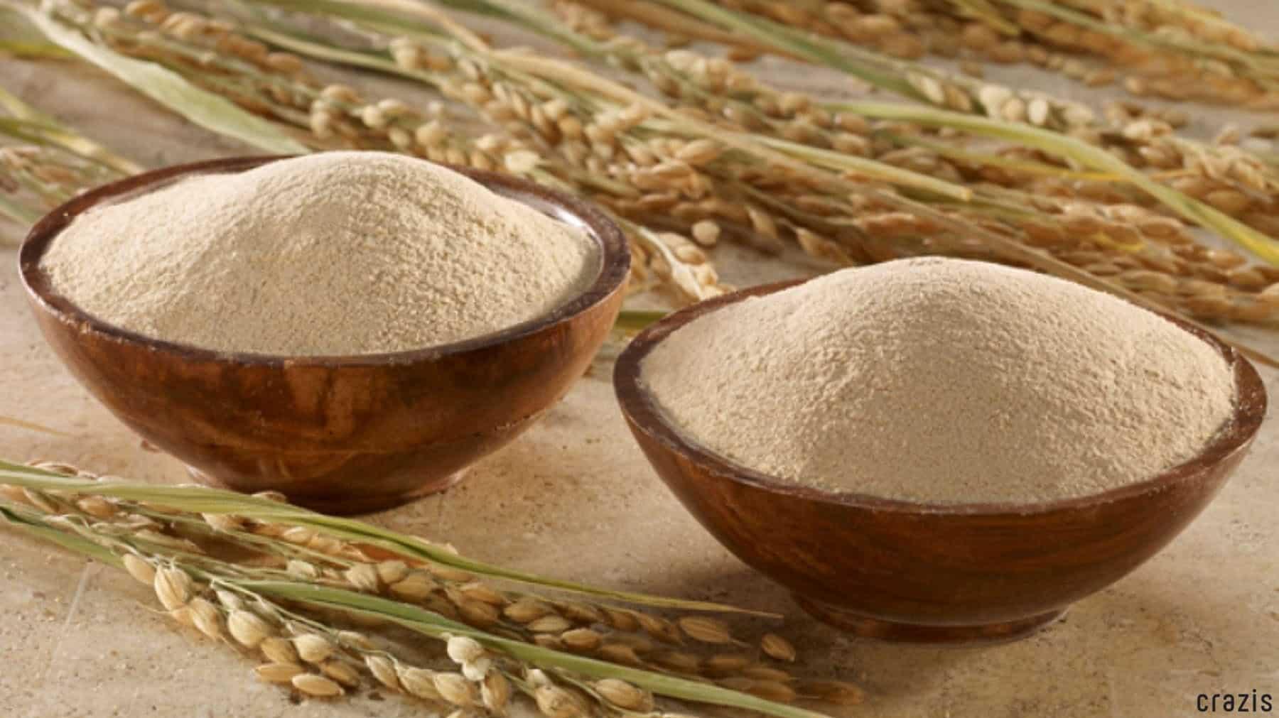 Tẩy tế bào chết bằng bột cám gạo