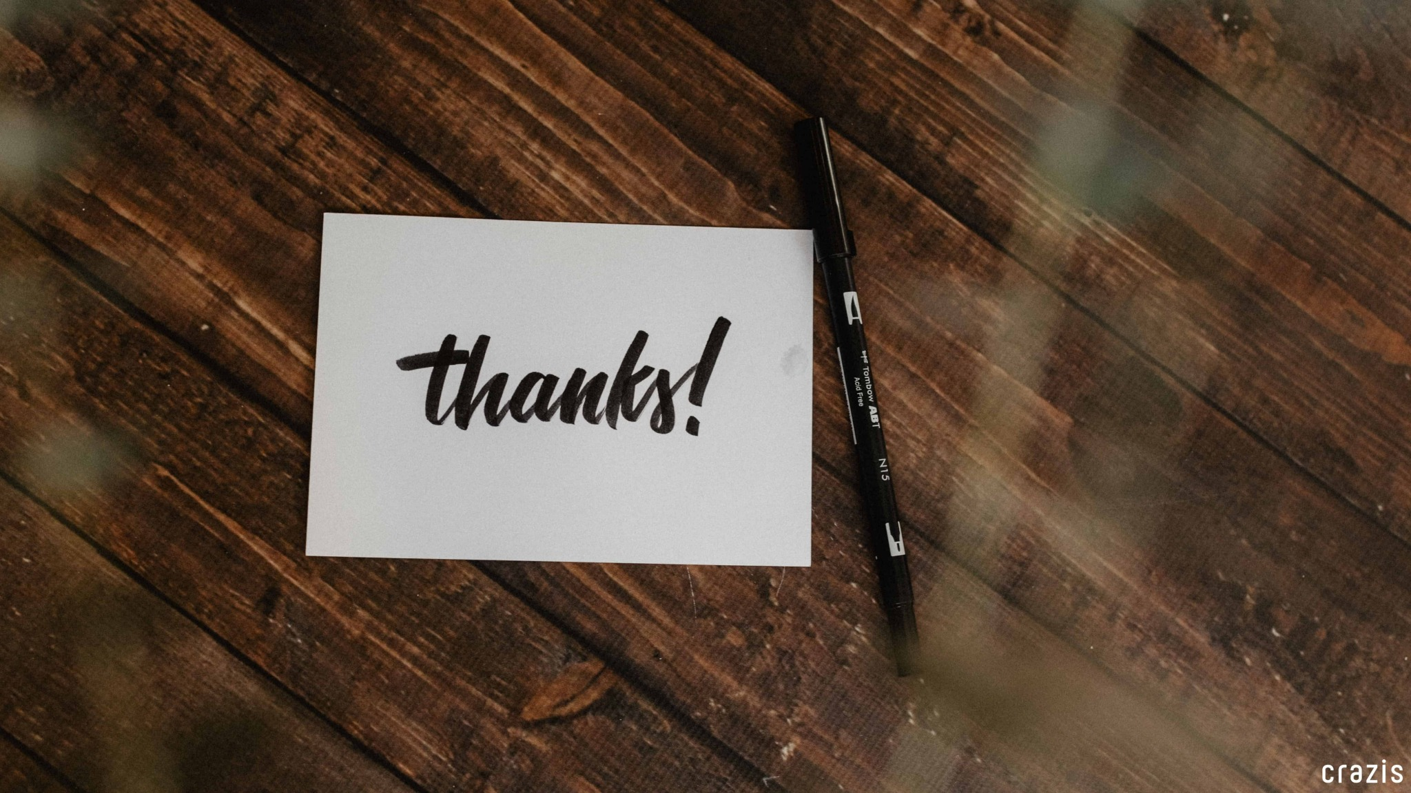 #Lời cảm ơn (crazis.vn)
