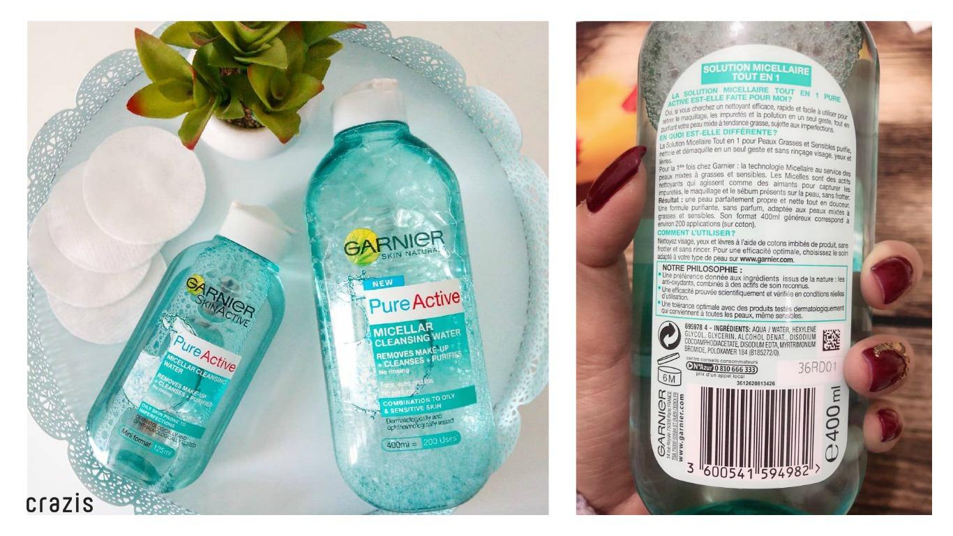 Nuoc tay trang cho da dau Garnier Micellar Cleansing Water Combination To Oily And Sensitive Skin 3