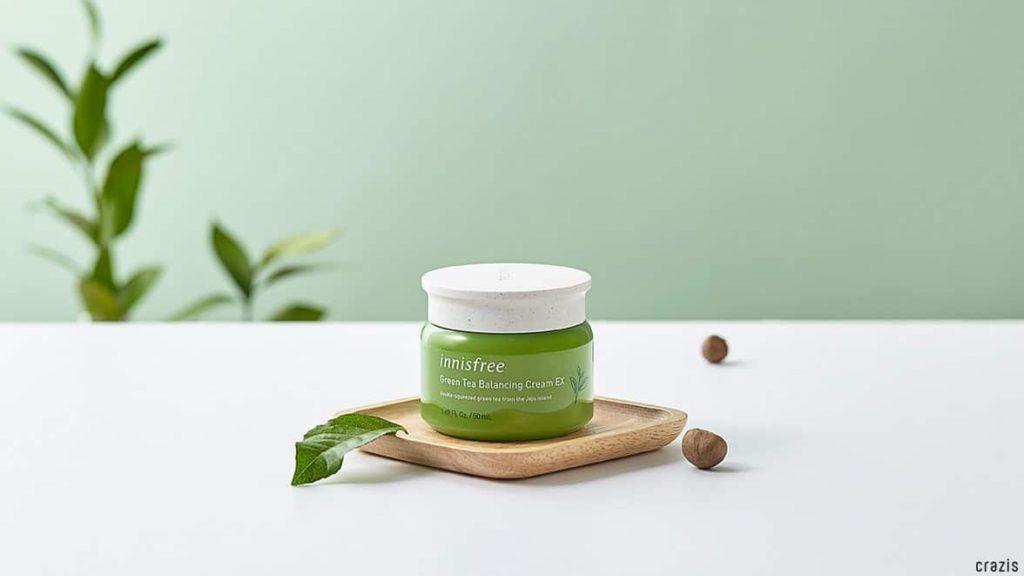 Innisfree Green Tea Balancing Cream EX review